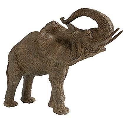 A&B Home Adi Table Decor  Elephant Statue, 15 X 8 X 12-Inch