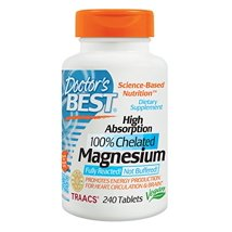 Vitamins & Supplements: Doctor's Best High Absorption Magnesium