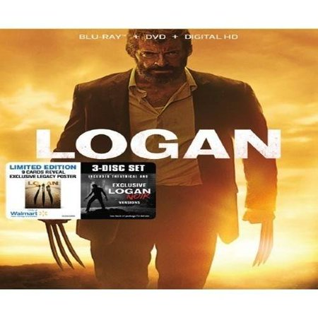 Logan  Blu Ray   Dvd   Digital Hd   Walmart Exclusive