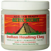 2 Pack - Aztec Secret Indian Healing Clay, Deep Pore Cleansing Facial & Healing Body Mask 16 oz