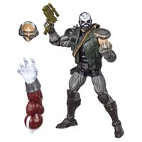 Marvel Legends Series 6-inch Collectible Action Figure Skullbuster Toy (X-Men Collection) Caliban Build-a-Figure Part