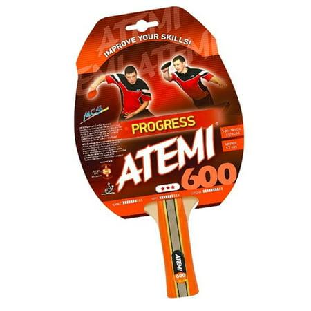 NTT Atemi 600 Pre Assembled Table Tennis Racket