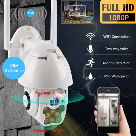 IP Camera Outdoor Dome Wireless Wifi Security Camera