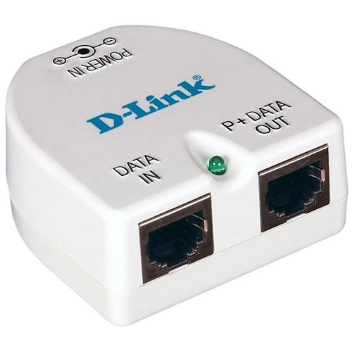 D-Link DPE-101GI PoE Gigabit injector - PoE injector - for D-Link DAP-2660; AirPremier N PoE Access Point with Plenum-rated Chassis DAP-2360