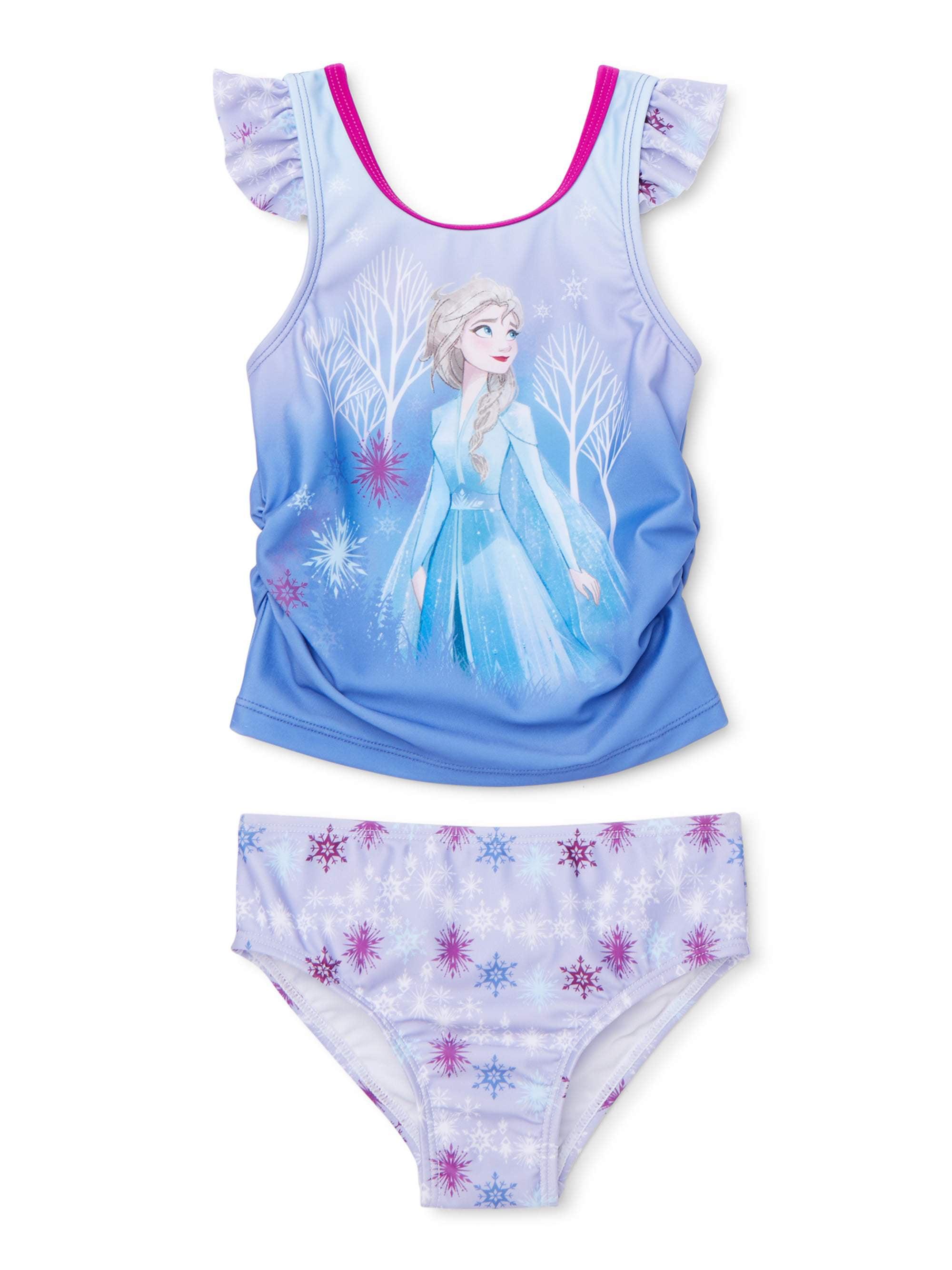 Girls Frozen Swim SetDisney Frozen Swimming CostumeDisney Princess Bathers