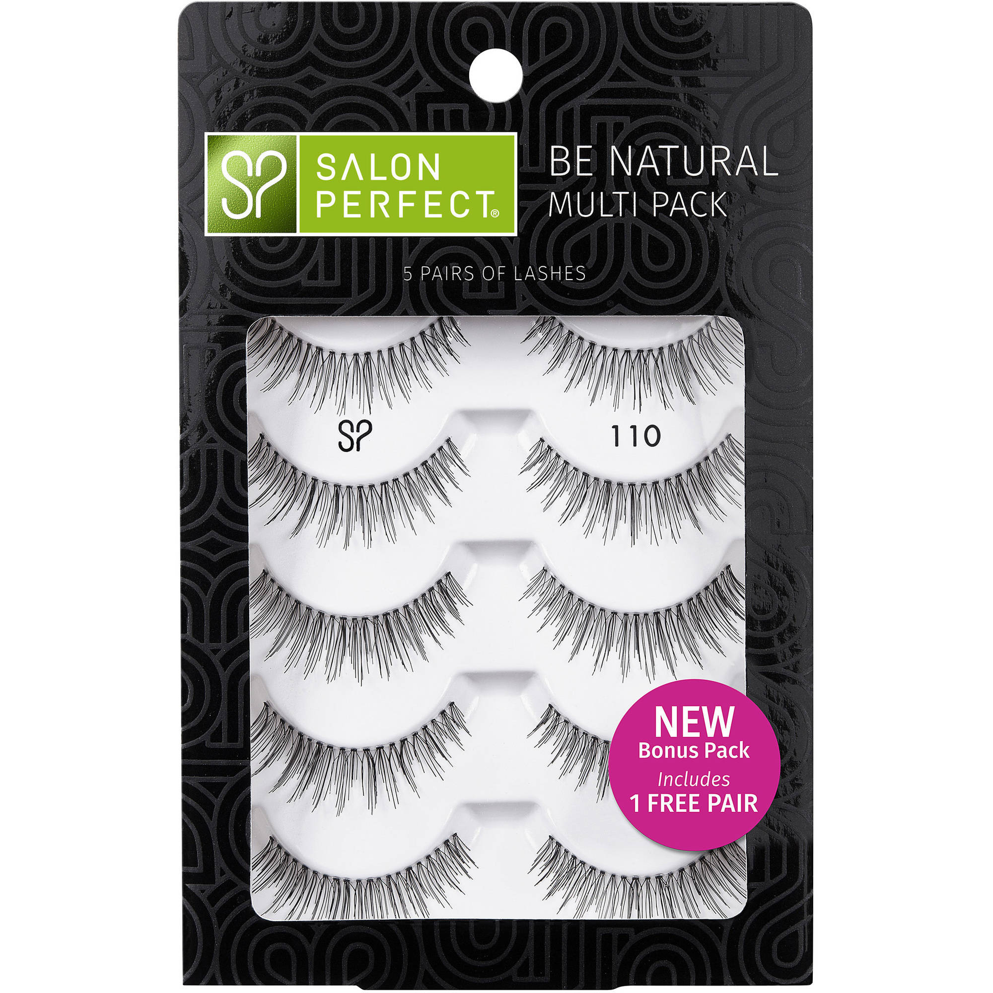 Salon Perfect Go Glam Multi Pack Lash 615 5 Pairs Walmart