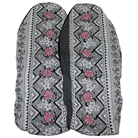 Hawaiian Car Seat Covers Red Sea Turtle Set Of 2 Front