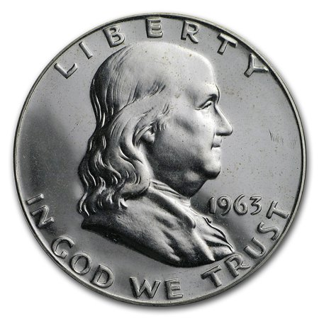 1963 Franklin Half Dollar Gem Proof