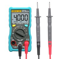 RICHMETERS 404A Digital Multimeter Auto-Ranging Ammeter True-RMS Smart NCV Portable 4000 Counts LCD Display Auto Range AC/DC Voltage Current Measurement Tools