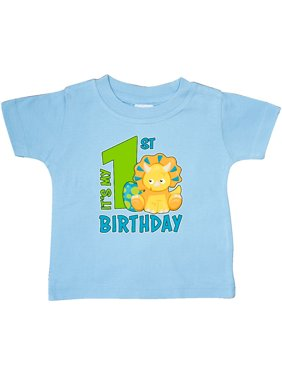 Its My 1st Birthday with Dinosaur Baby T-Shirt