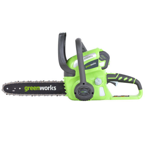 Greenworks 20262 40V G-MAX Cordless Lithium-Ion 12 in. Chainsaw Kit by GREENWORKS