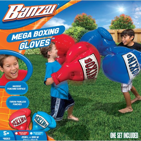 Banzai Mega Boxing Gloves - Oversized Inflatable Includes x 2 Pairs)
