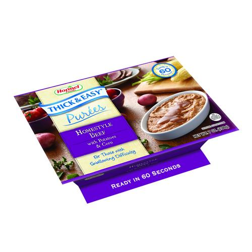 Thick and Easy Homestyle Beef Puree with Potatoes and Corn, 7 Ounce -- 7 per case.