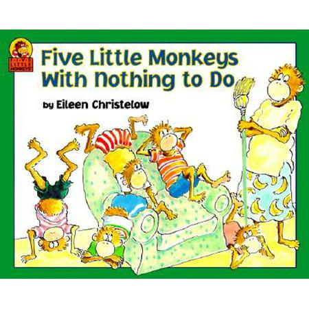 Five Little Monkeys with Nothing to - Five Little Monkeys Halloween