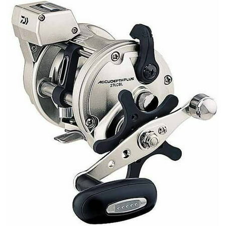 Daiwa Accudepth Plus-B 4.2:1 Line Counter Casting Fishing Reel, Left Hand - ADP27LCBL Daiwa Line Counter Reels