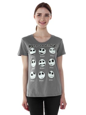 0a5e49bc3a Product Image Juniors Nightmare Before Christmas Jack Skellington T-Shirt