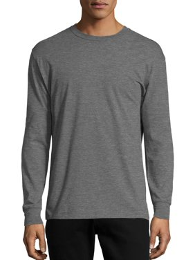 6790255d6 Product Image Hanes Men's x-temp lightweight long sleeve t-shirt, up to  size 3xl
