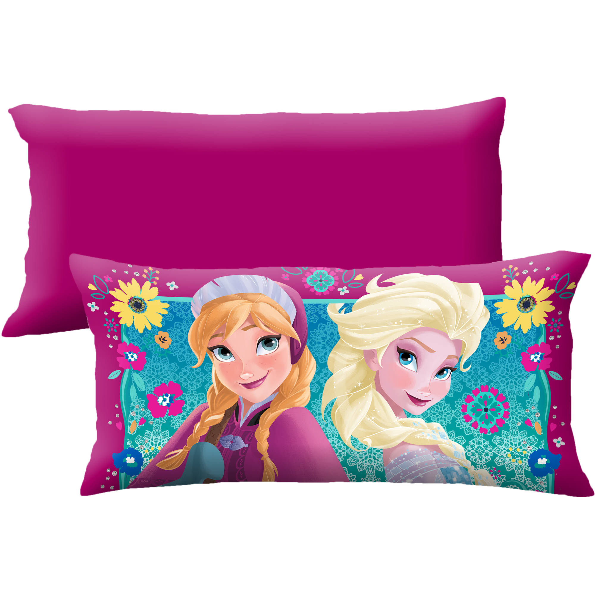 "Disney's Frozen 'Powerfull Sisterhood' 18"" x 36"" Body Pillow"