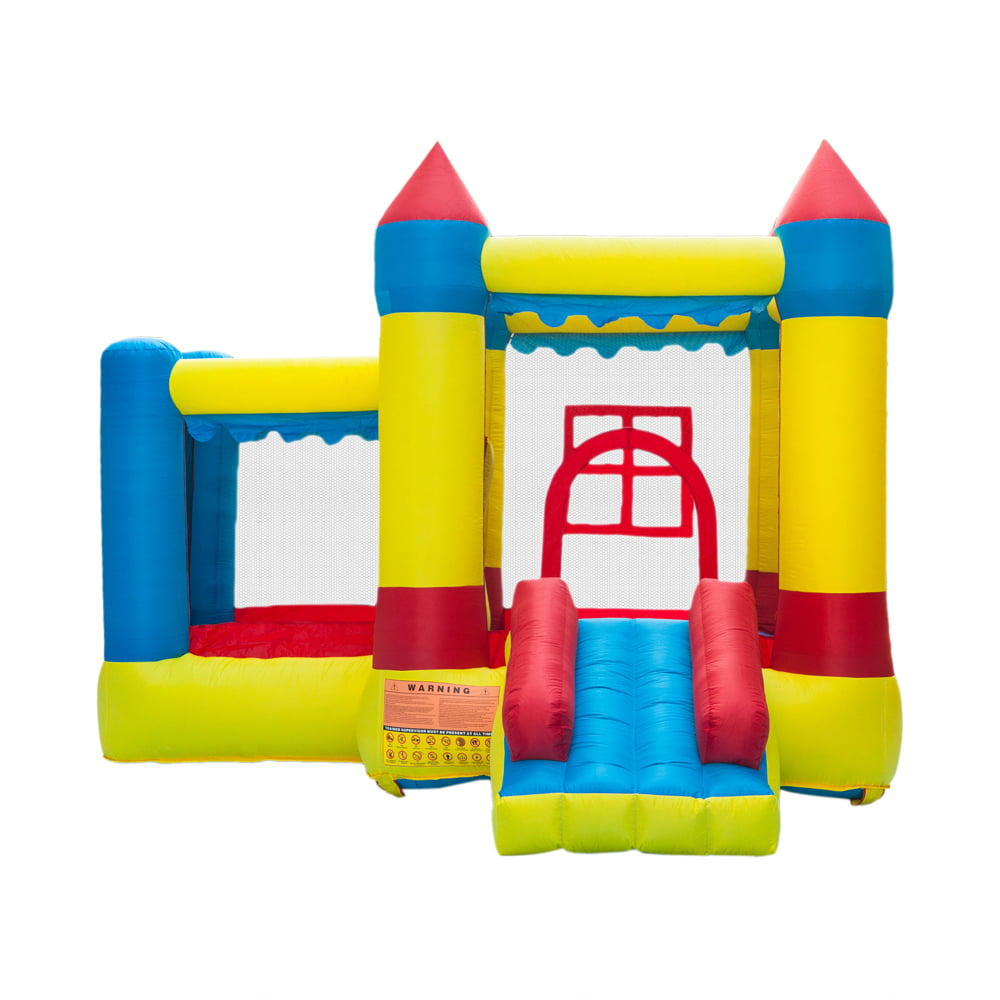 Inflatable Bounce House Jumper Castle Kids Playhouse w//Slide Christmas Gift