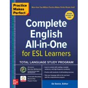 Practice Makes Perfect: Complete English All-in-One for ESL Learners - eBook