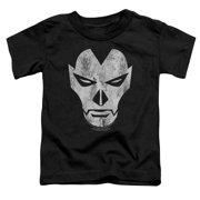 Shadowman Face Little Boys Shirt