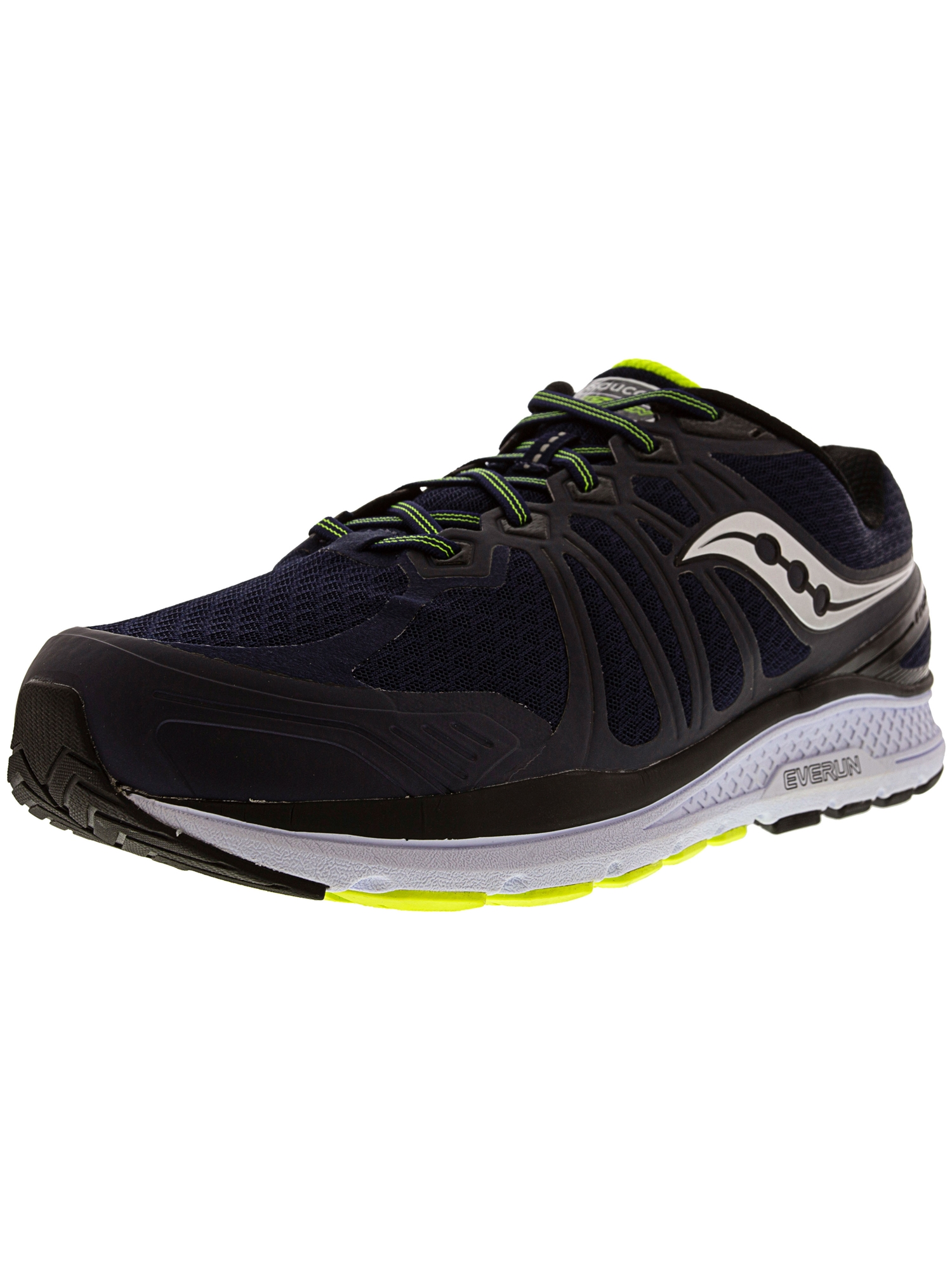 66c9106d1c Saucony Men's Echelon 6 Navy / Citron Ankle-High Running Shoe - 9WW