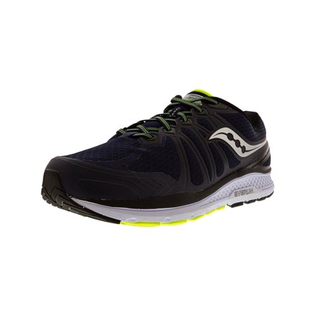 - Saucony Men's Echelon 6 Navy / Citron Ankle-High Running Shoe - 10W