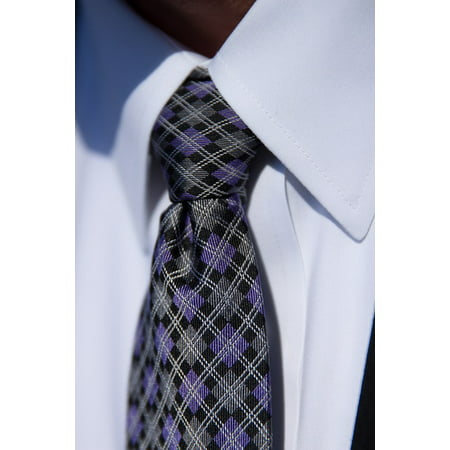 LAMINATED POSTER Business Fashion Tie Shirt Suit Men Handsome Poster Print 24 x 36