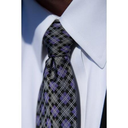 Canvas Print Business Fashion Tie Shirt Suit Men Handsome Stretched Canvas 10 x 14 (Top 10 Mens Suits)