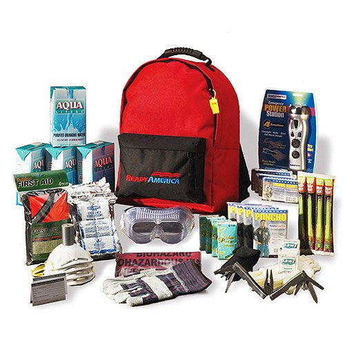 2a3e17cf7f4 Grab  N Go Deluxe 3-Day, 4 Person Emergency Kit with Backpack - Walmart.com