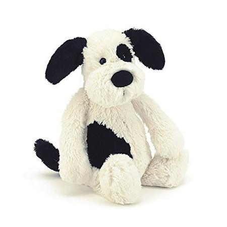 Jellycat Bashful Black & Cream Puppy Stuffed Animal, Large, 15 inches - image 1 of 1