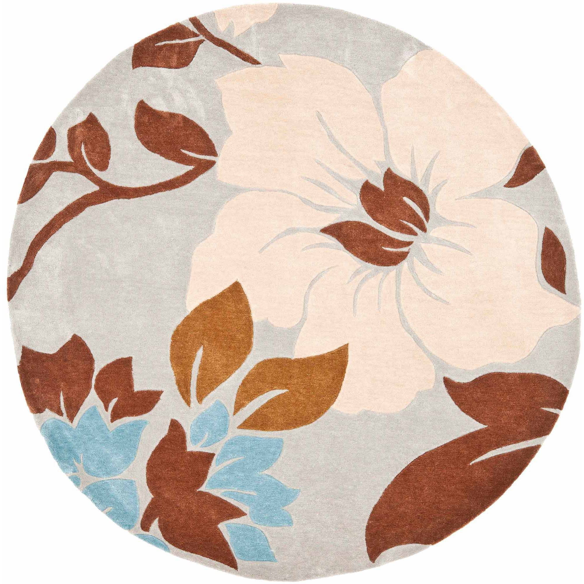 Safavieh Modern Art Metha Hand Tufted Area Rug, Ivory/Multi-Colored