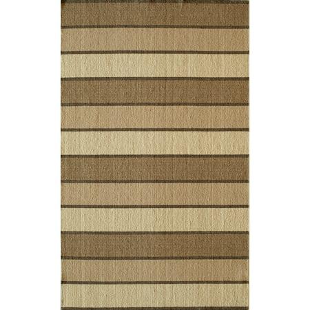 Momeni Marquis Wool Hand Woven Beige Area Rug 3'6
