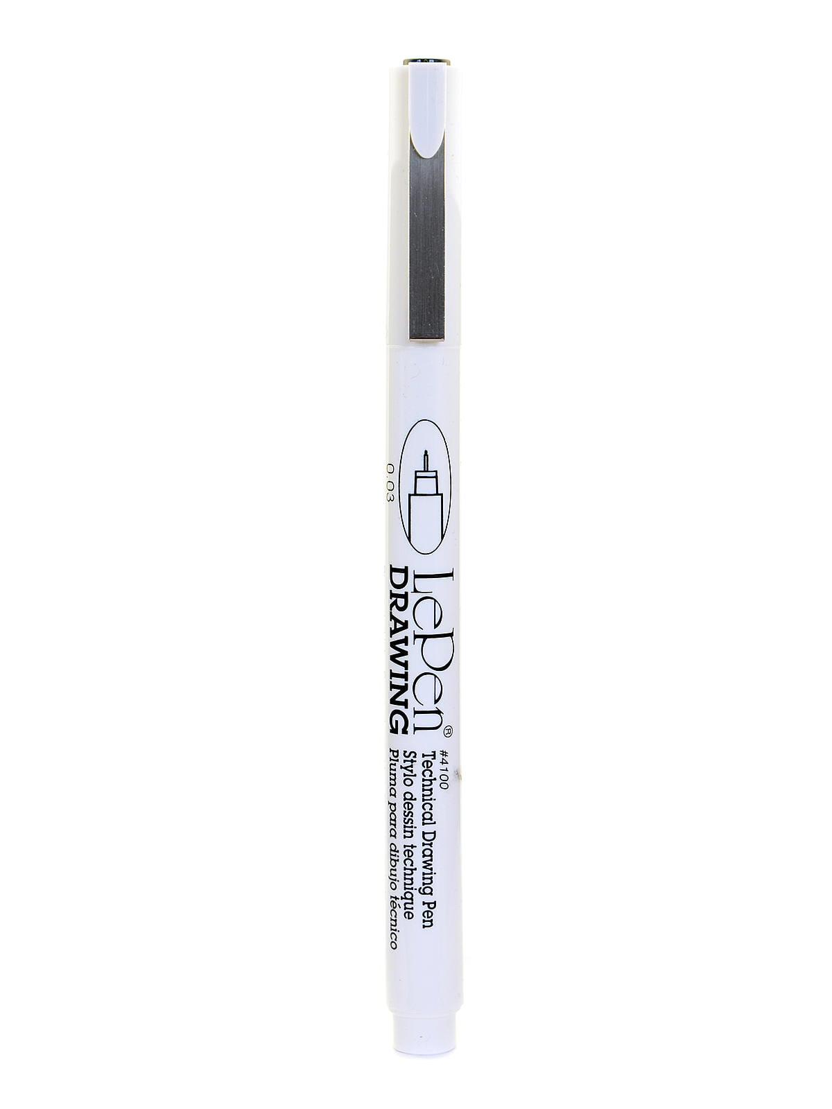 Le Pen 4100 Technical Drawing Pen Black