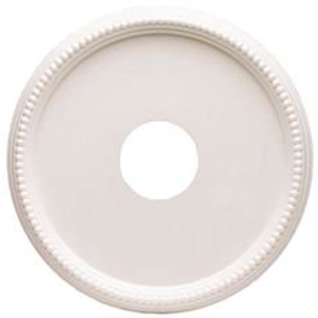 Westinghouse 16 In Round Beaded Molded Plastic Ceiling