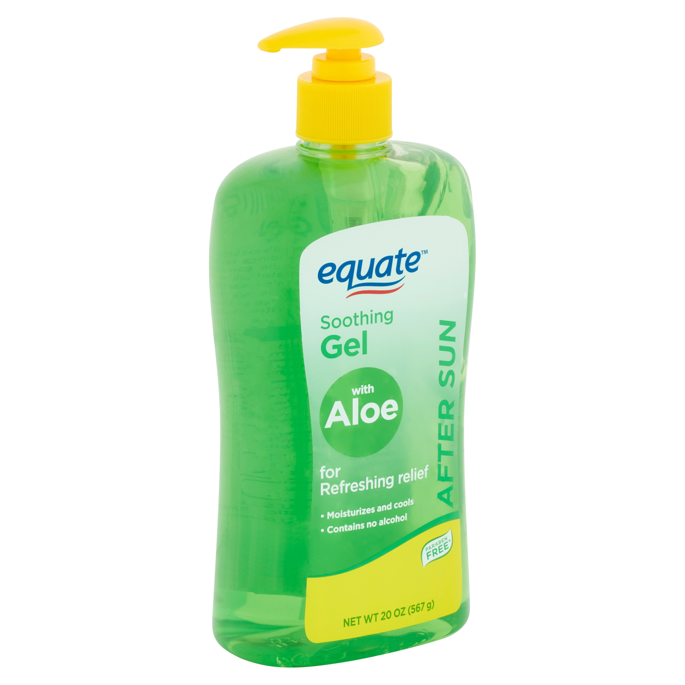 Equate After Sun Soothing Gel with Aloe, 20 oz