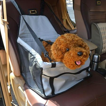 CoastaCloud Dog Cat Pet Puppy Car Adjustable Waterproof Rear Seat Cover Strap Cushion Booster Mat Travel