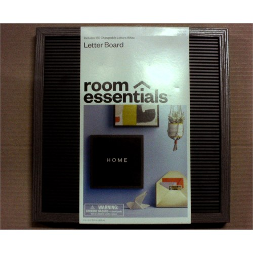 14x14 Letter Board Room Essentials by