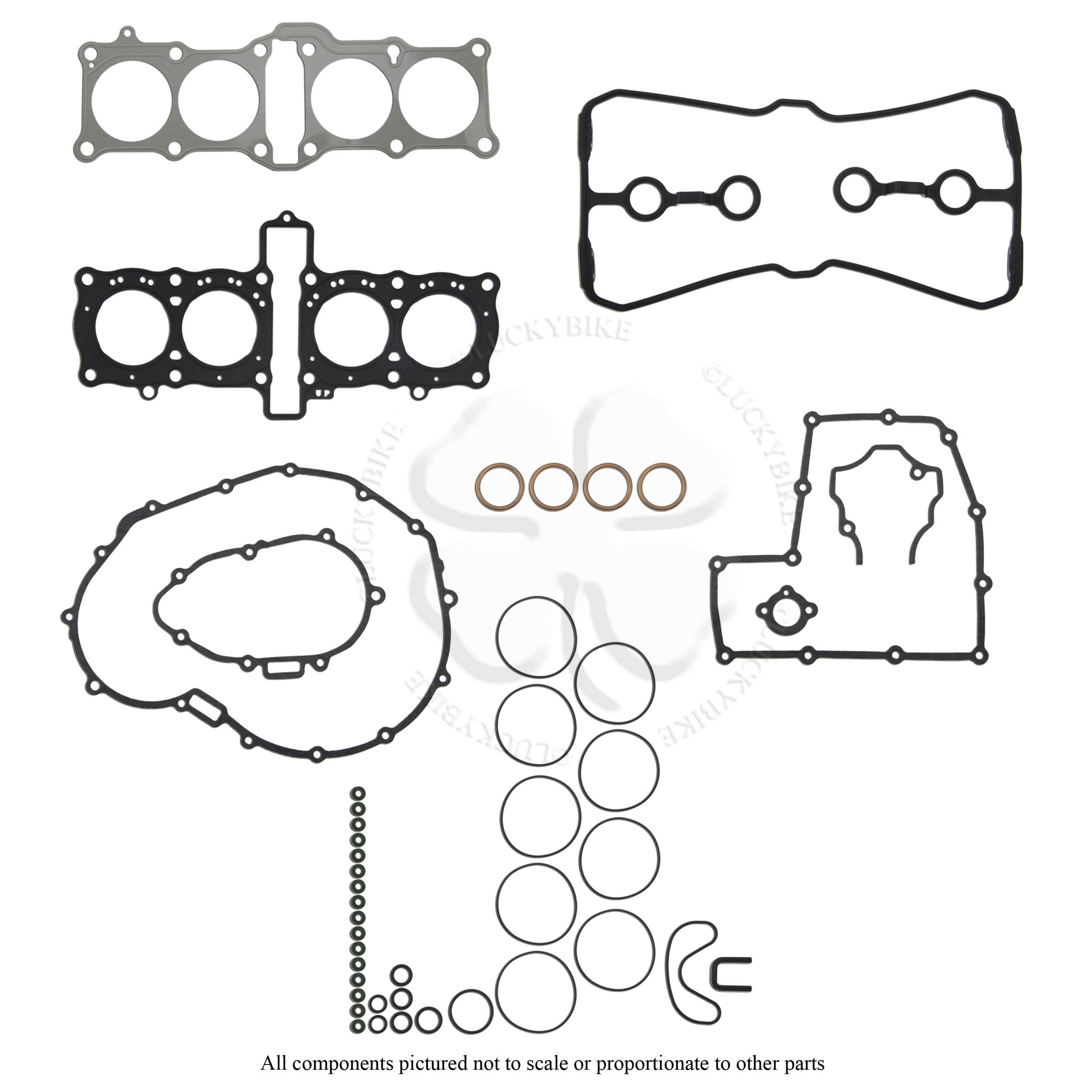 Complete Engine Gasket Kit Honda 1987 1988 1989 1990 CBR