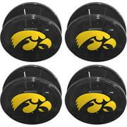 NCAA Iowa Hawkeyes Magnetic Chip Clip Set, 4pk