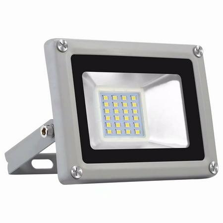 2X 20W LED Flood Light Cool White Outdoor Garden Yard Spot Lamp Waterproof 110V