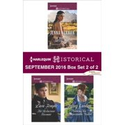 Harlequin Historical September 2016 - Box Set 2 of 2 - eBook