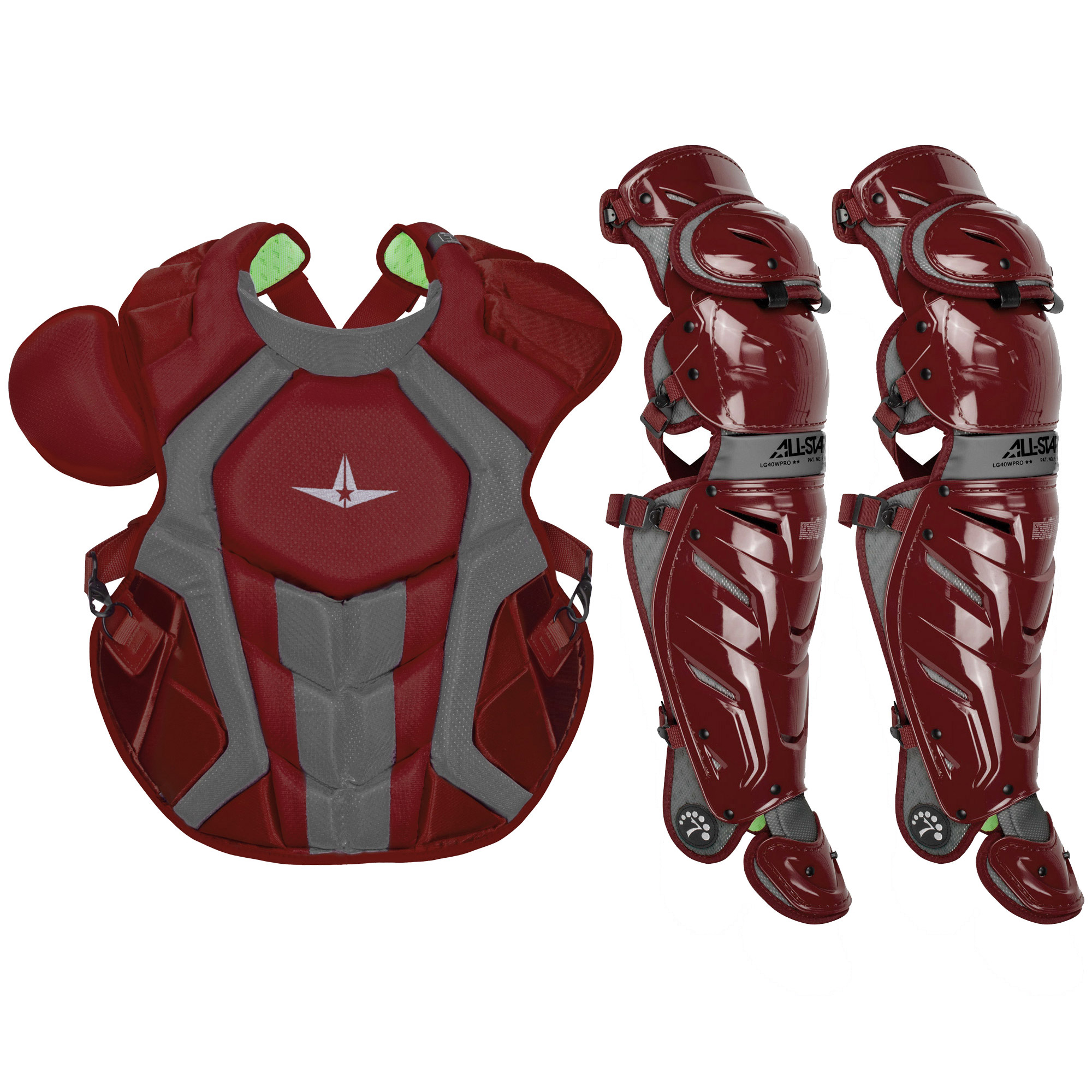 All-Star System7 Axis NOCSAE Adult Baseball Catcher's Gear Set