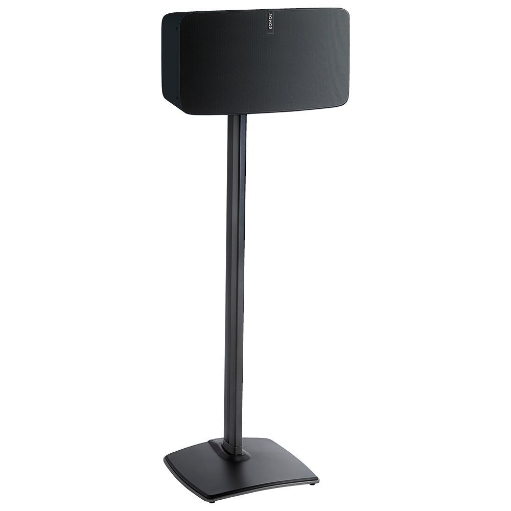 SNSWSS51B1 Sanus Speaker Stand for Sonos Play:5 Audio Enhancing Design for Vertical & Horizontal Orientations... by SANUS