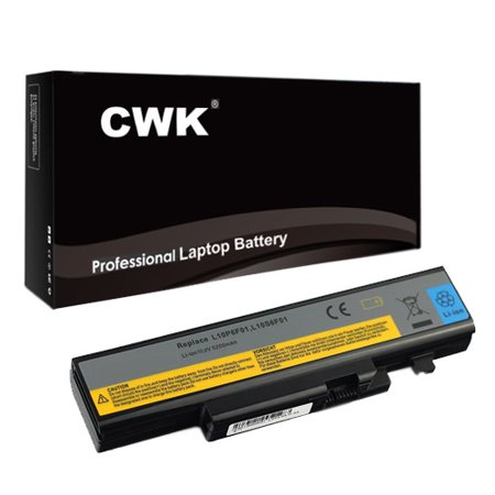 Frs Replacement Battery (CWK Long Life Replacement Laptop Notebook Battery for Lenovo IdeaPad FRU 121001107 FRU L10S6F01 Y471N Y471 Y570 121001073 121001074 121001107 121001074 121001108 121001151 )