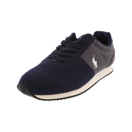 Polo Ralph Lauren Brightwood Navy / Charcoal Ankle-High Fashion Sneaker - 11M