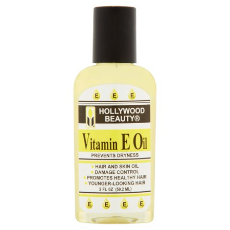 Hollywood Beauty Vitamin E Oil Hair   Skin Treatment   2 Oz