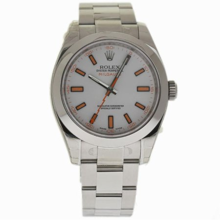 Pre-Owned Rolex Milgauss 116400 Steel Watch (Certified Authentic & Warranty)