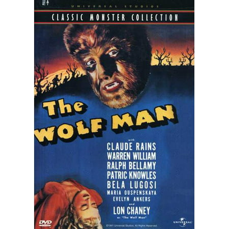 The Wolf Man (DVD) - Claudine Wolf