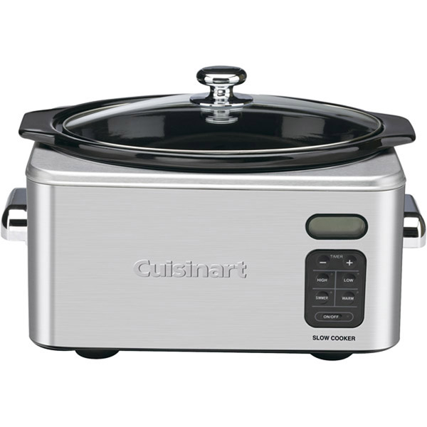 6.5-Quart Programmable Stainless Steel Slow Cooker by